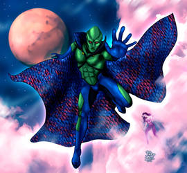Martian Manhunter by fabioalexworld