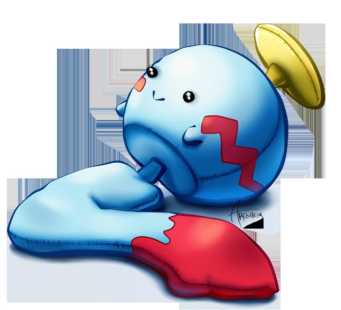 Renders Pokemons 02 Chimecho_by_arenheim-d4o9bi9