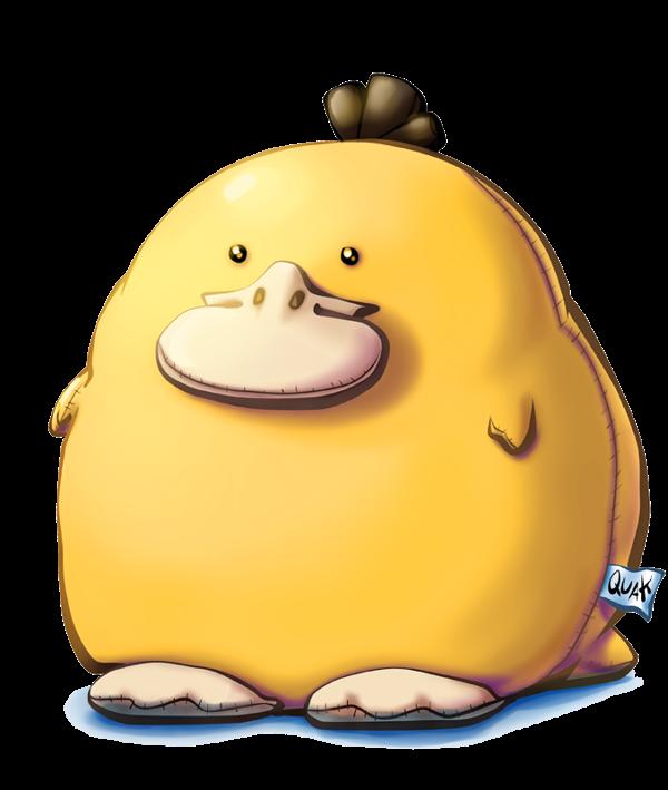 Renders Pokemons 02 Psyduck_by_arenheim-d4qfktf