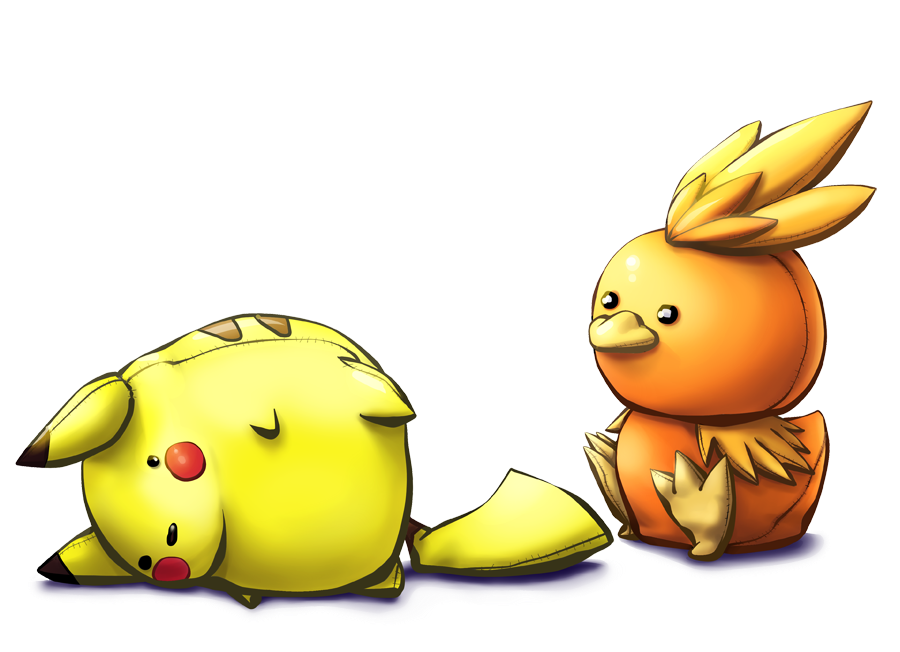 Renders Pokemons 02 Torchic_won_the_match_by_arenheim-d4r490d