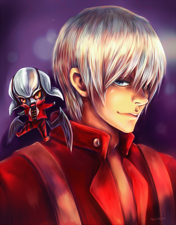 Dante and Devil Trigger by Arenheim