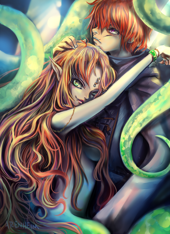Agni and Marla by Arenheim