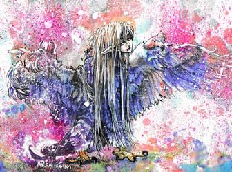 Harpie Queen by Arenheim