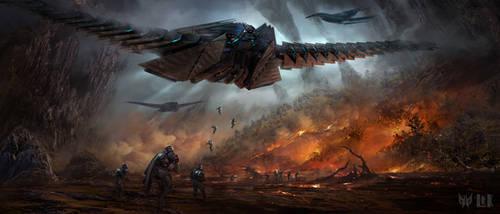 ACER Predator: Scorch Earth by Skyrion