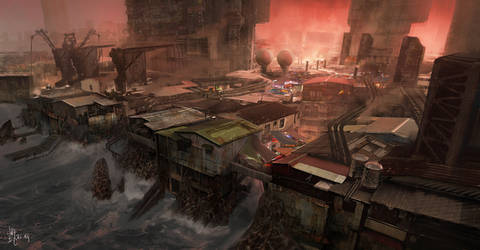 Crimson Coal Mining City