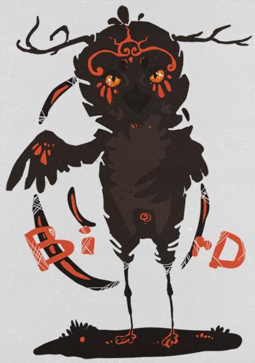 Bird (adopt) by makqoi
