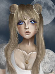 The Moon Princess by BloodyButterfly-wp