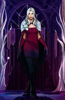Dresden Files: Queen Mab by Olieart