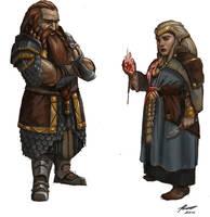 Cosmos RPG: Dwarf by Olieart