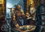 Grakus the Barbarian Minotaur