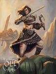 Kagera, Barbarian Orc Slayer