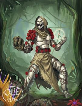 Rose, Warforged Druid