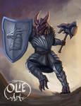 Fafnir ,  Dragonborn fighter