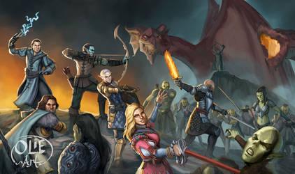 The Heroes of Blackfall