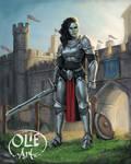 Mirabella Ravenblood, Orc Knight