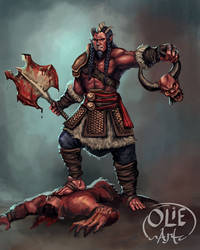 Splatter Barbarian