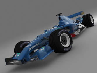 Prost 2001 livery for LFS by Gerdoner