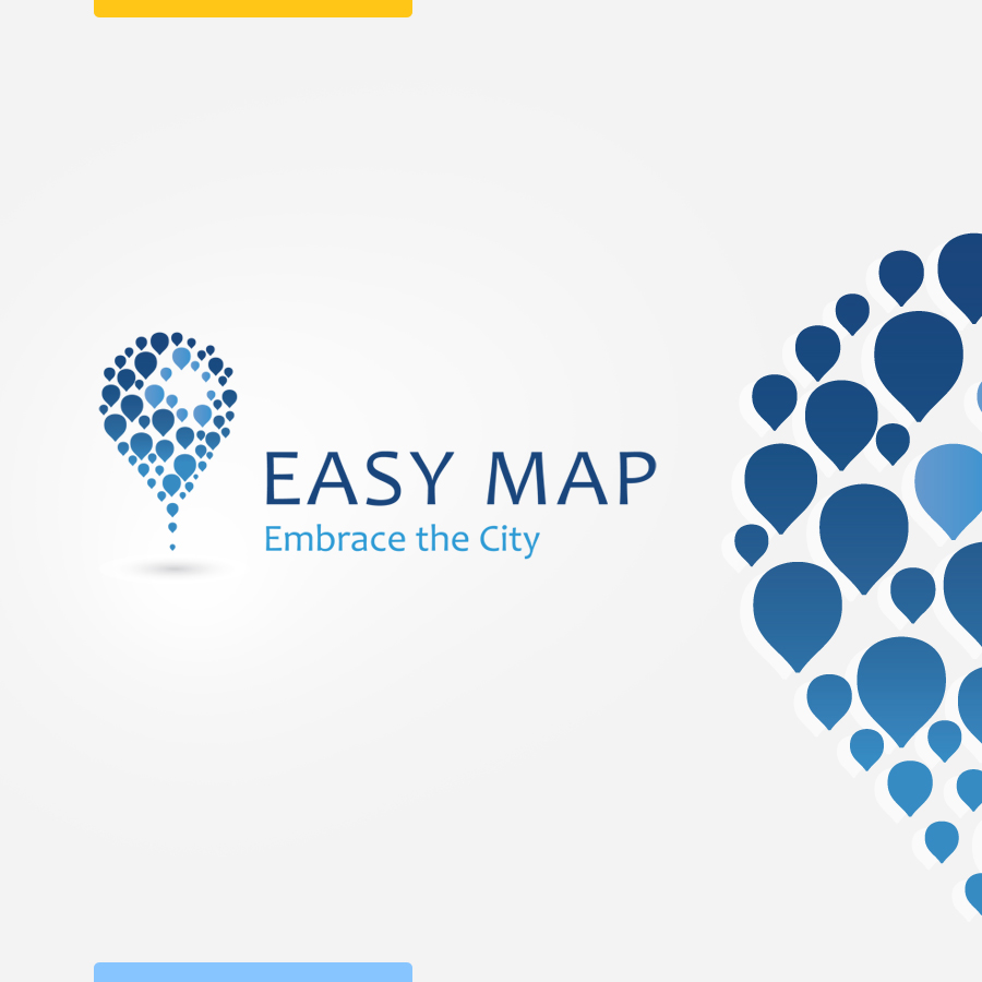 Logo design for easy map by amynsattani on deviantart for Easy way to create a logo