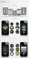 iPhone Game App UI