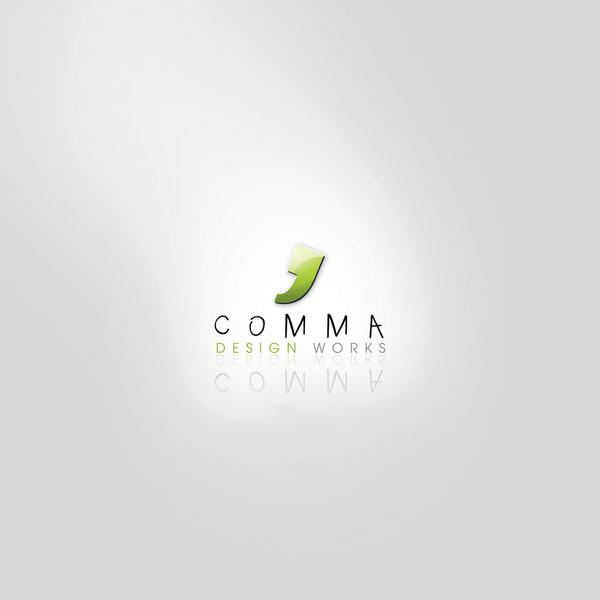 Comma design work by amynsattani