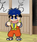 Goemon gets kicked out?