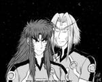 Jurokubei and Seppukumaru