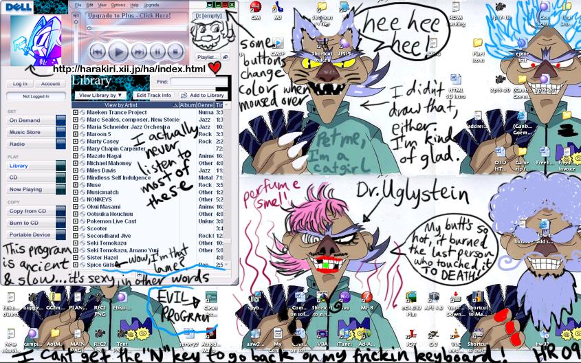 Crappy Desktop Screenshot by Seppukumaru