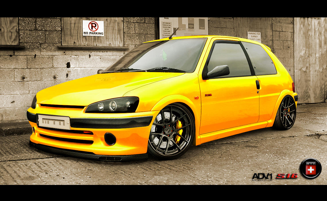 2004 Peugeot 106 S16 Adv 1 Edition By Moe Z Design On