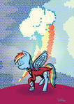 Rainbow Dash Suit