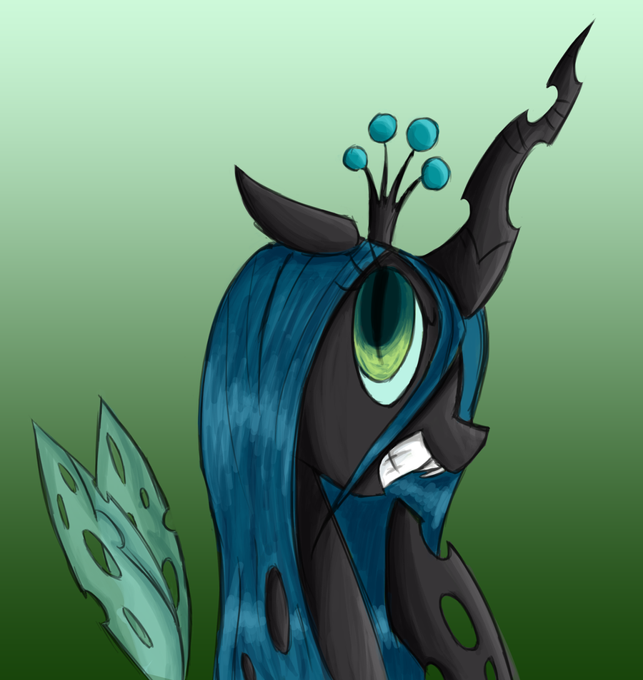 Queen Chrysalis by Voids-Edge