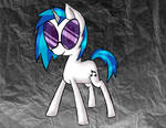 Vinyl Scratch up in this club-