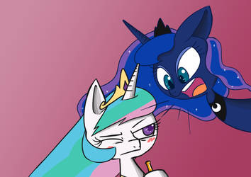 DEAR SISTER, YOU ARE DRUNK! by Voids-Edge