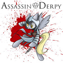 Assassin Derpy by Voids-Edge