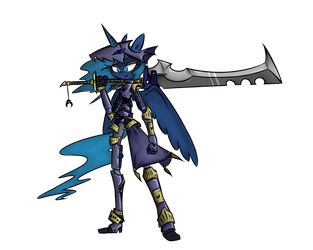 Dragon Slayer Luna by Voids-Edge