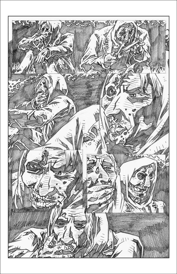 'Risers' 3 Page 11 Pencils by KurtBelcher1