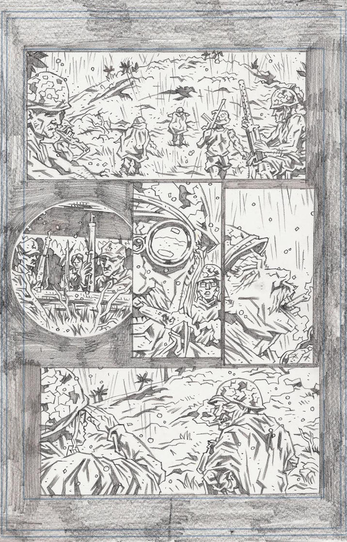 FUBAR Short Page 1 Pencils by KurtBelcher1