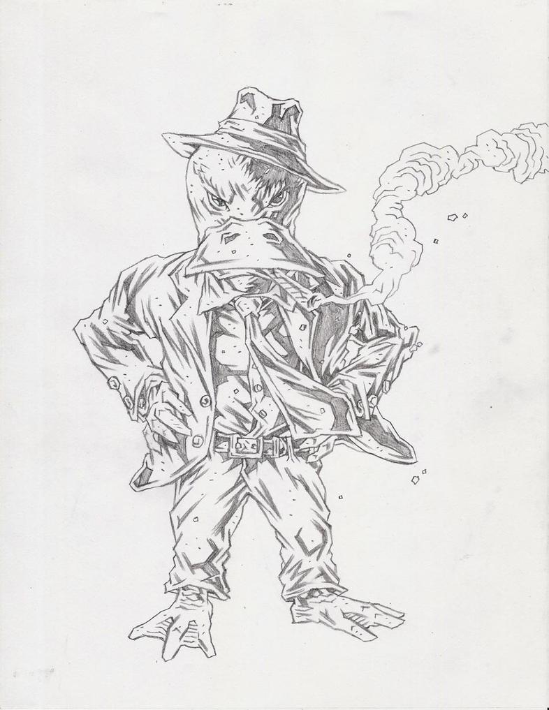 Howard the Duck by KurtBelcher1
