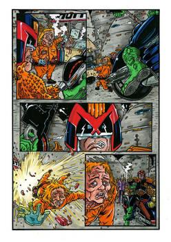 Judge Dredd 2 Colors