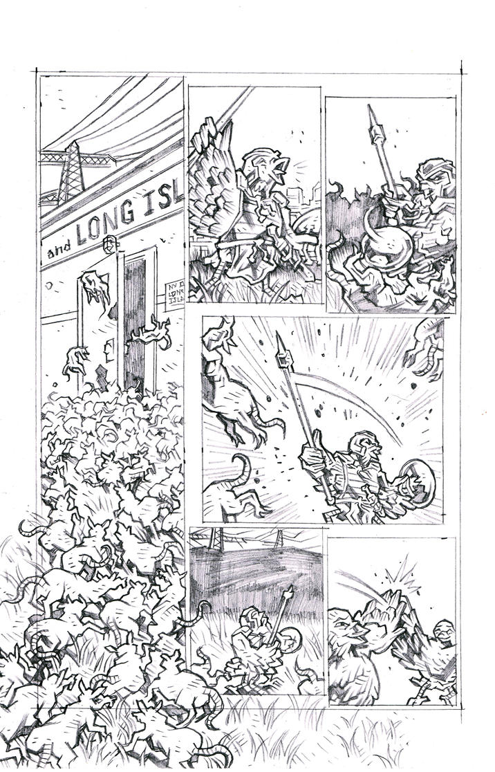 Carriers - Wings of the Past Page 4 Pencils by KurtBelcher1