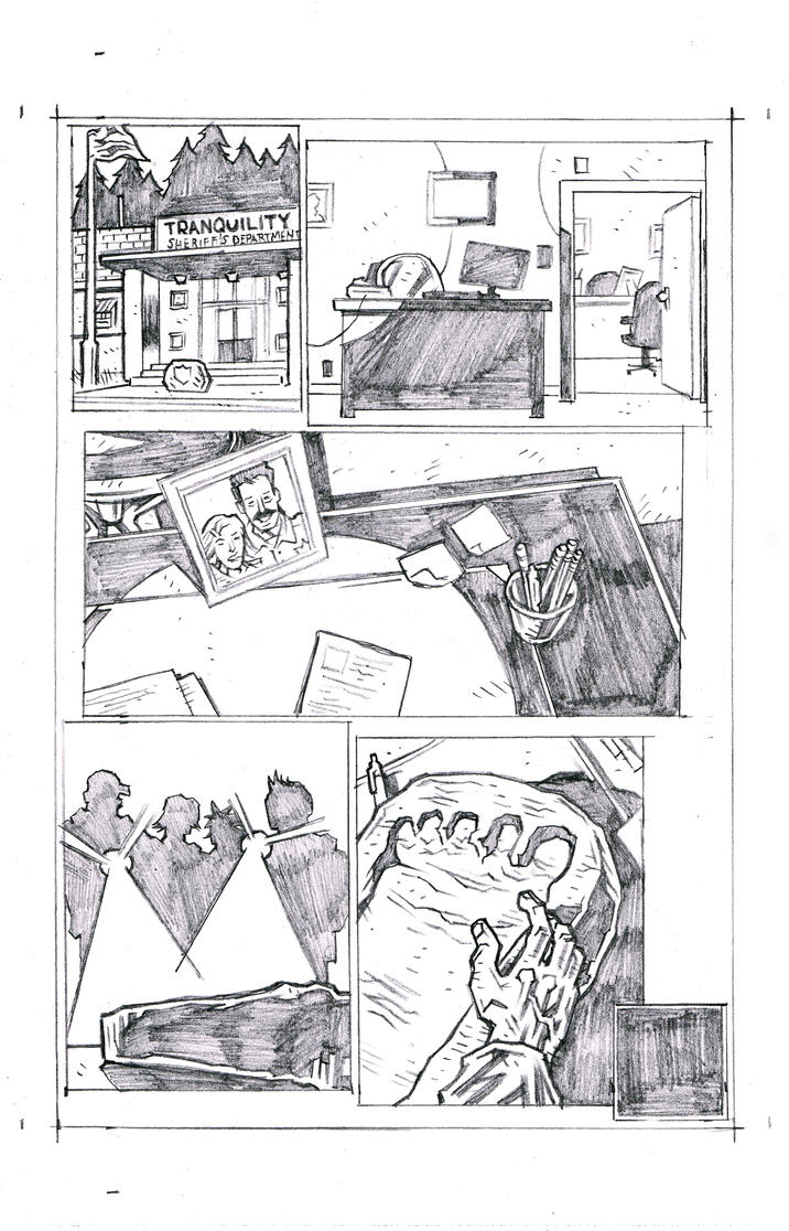 Tranquility Page 30 Pencils by KurtBelcher1
