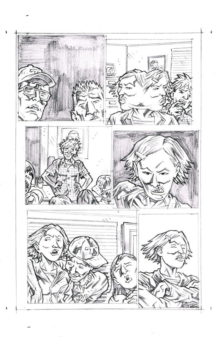 Tranquility Page 32 Pencils by KurtBelcher1