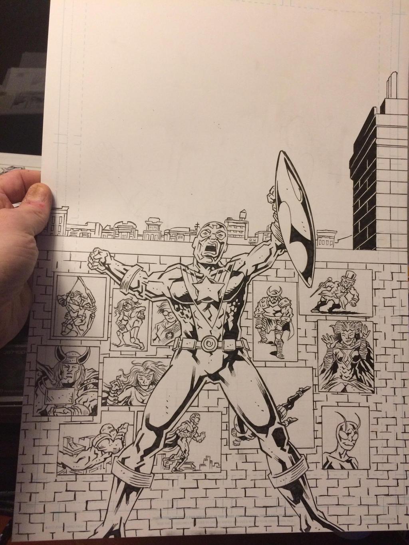 The Allies Sketch Recreation! by KurtBelcher1
