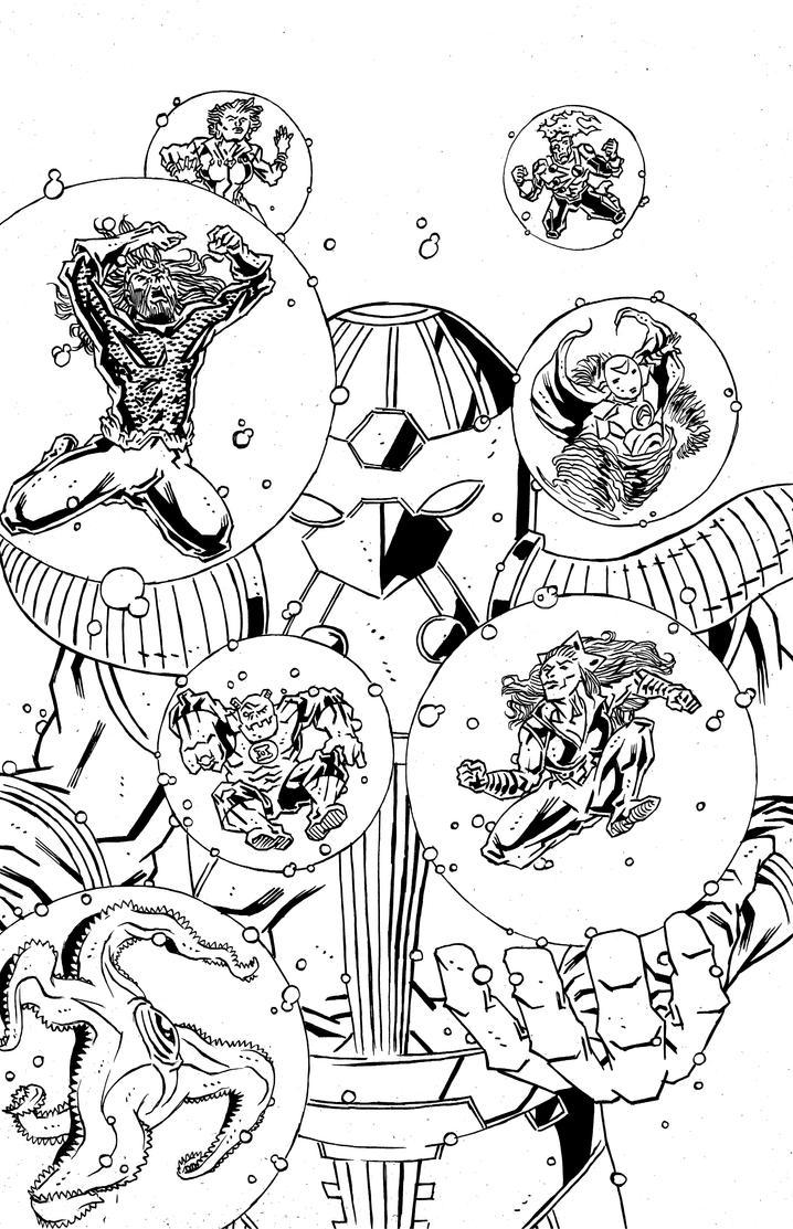 Aquaman's JLA by KurtBelcher1