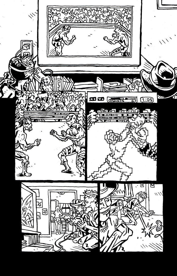 Infinity 3 Count Page 5 Inks by KurtBelcher1