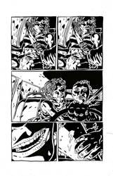 Sweet Hitch-hiker Page 2 Inks by KurtBelcher1