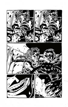 Sweet Hitch-hiker Page 2 Inks