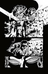 Sweet Hitch-hiker Page 3 Inks by KurtBelcher1