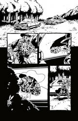 Sweet Hitch-hiker Page 4 Inks by KurtBelcher1