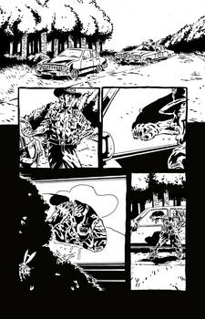 Sweet Hitch-hiker Page 4 Inks