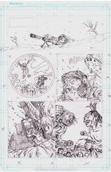The Longhunters Page 1 Pencils